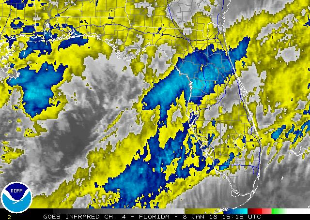 Latest IR Satellite Image - Click to Enlarge