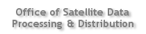 Office of Satellite Data Processing & Distribution banner image and link to OSDPD