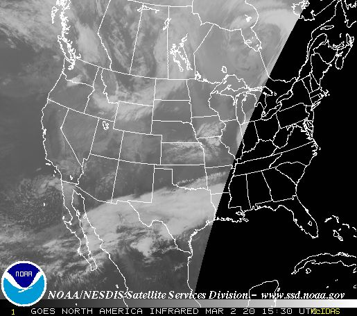 Latest National IR Satellite Image
