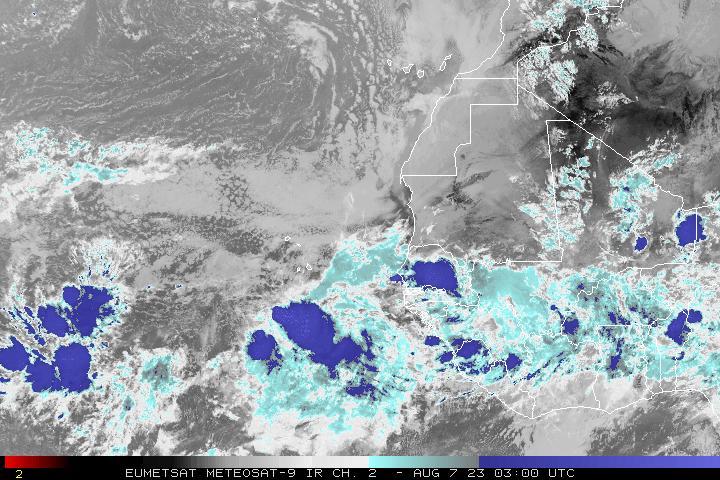 Meteosat East Atlantic Infrared, Ch. 2