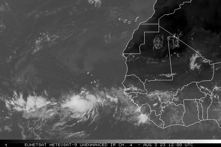 africa coast satellite image