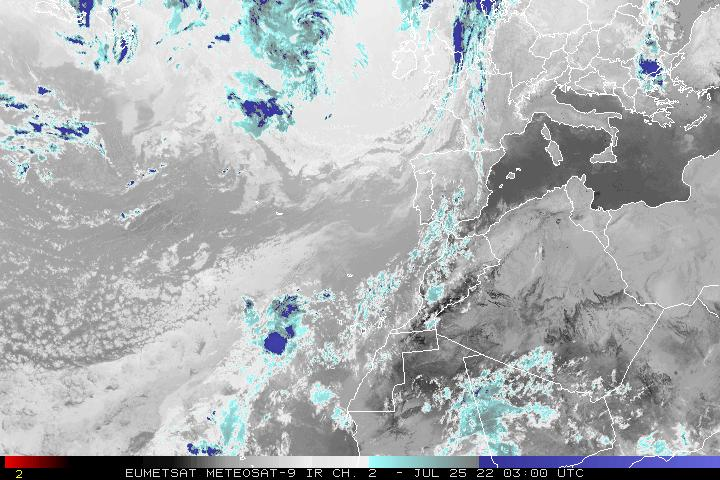 Meteosat Northeast Atlantic Infrared, Ch. 2