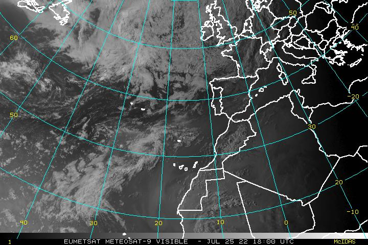 Eastern Atlantic visible satellite
