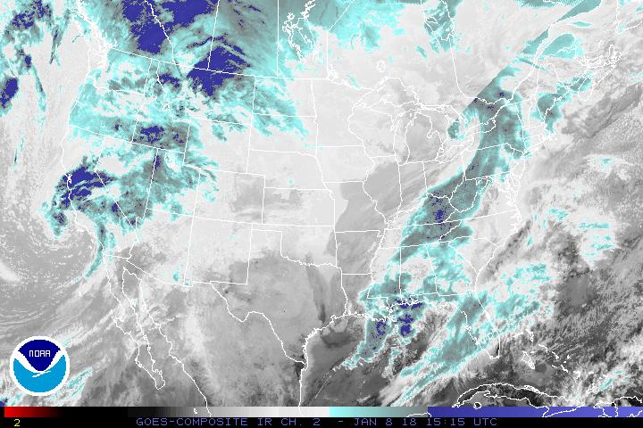 CONUS Infrared, Channel 2