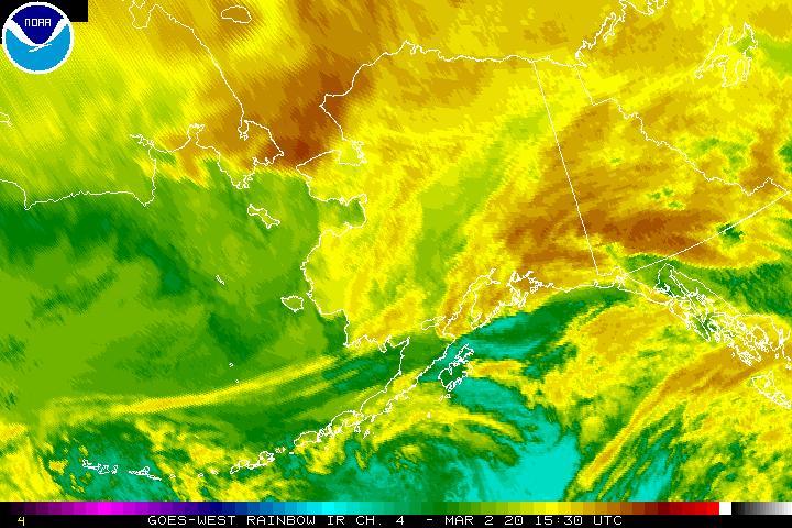 Alaska Sector Infrared