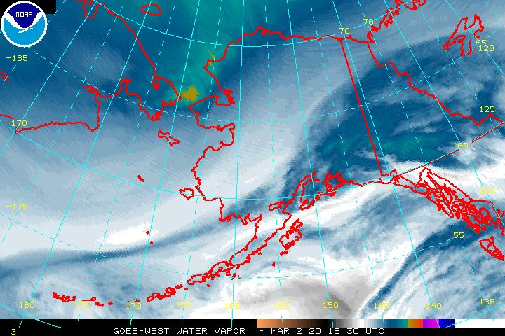 Alaska Imagery (GOES-WEST) - Satellite Services Division