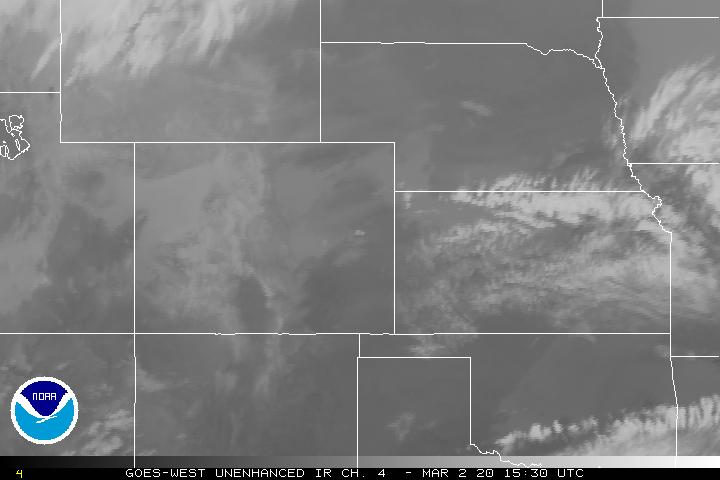 Colorado weather satellite imagery