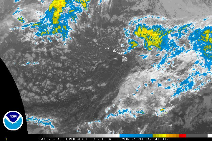 Central Pacific Infrared Image - click to loop