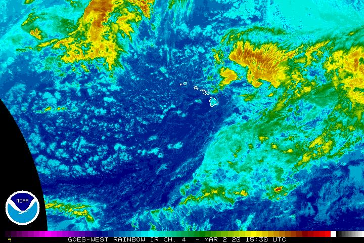 Central Pacific Sector Infrared