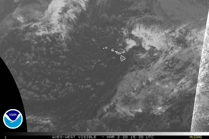 Hawaii Water Vapor