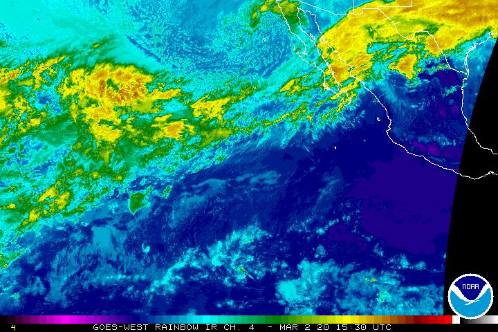 East Pacific Sector Infrared
