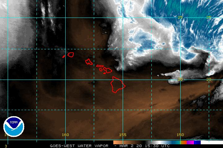 GOES Water Vapor Image (current)