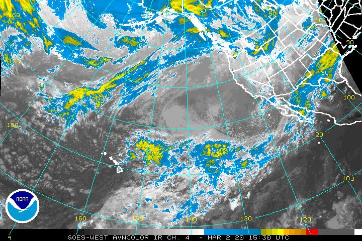 Satellite Imagery | Central Pacific Hurricane Tracking