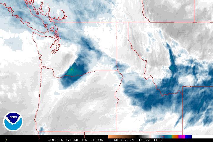 NOAA - 3 Kilometer Water Vapor