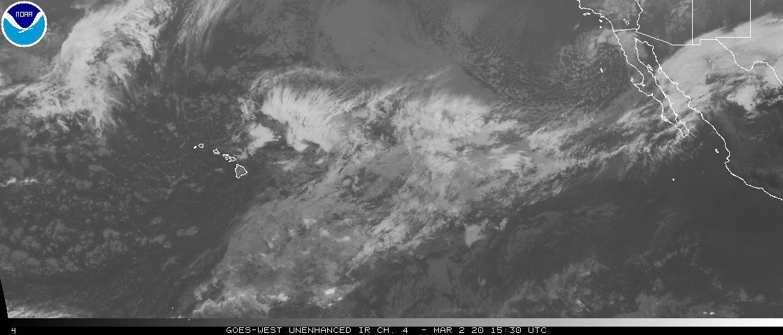 Pacific Wide View Satellite Loop