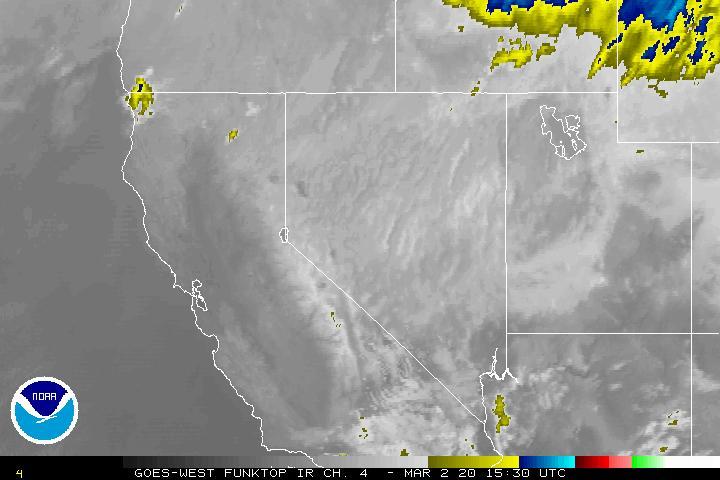 National Weather Service NWS Salt Lake City - Satellite map of us