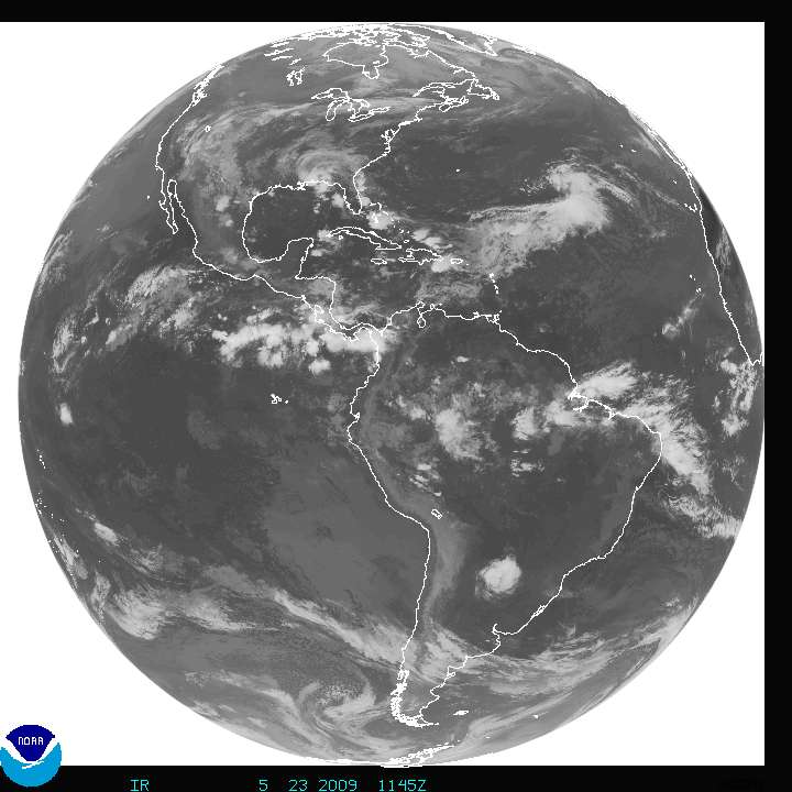 GOES East Satellite Full disk Image