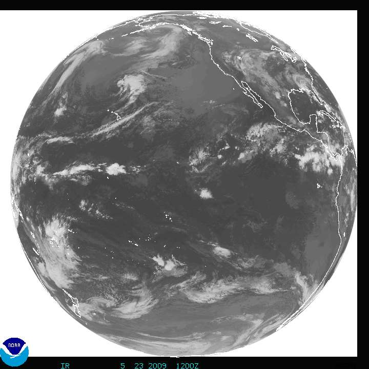 GOES West Satellite Full disk Image