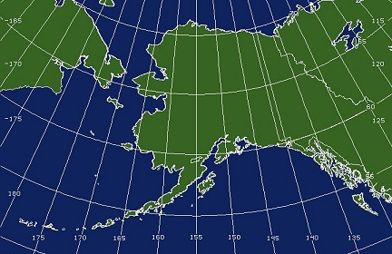 Alaska Imagery Goes West Satellite Services Division Office Of - Map-of-alaska-over-the-us
