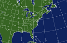 Eastern U. S. Coverage Area Map