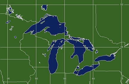 Great Lakes US Coverage Map
