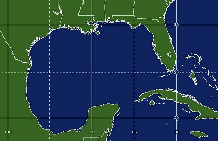 Gulf of Mexico Coverage Map