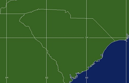 Columbia, SC WFO Coverage Map