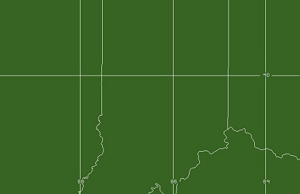 Indianapolis, IN WFO Coverage Map