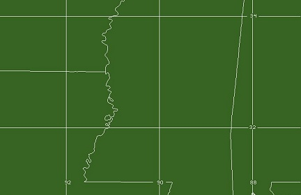 Jackson, MS WFO Coverage Map