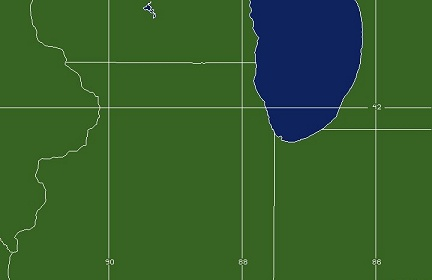 Chicago, IL WFO Coverage Map
