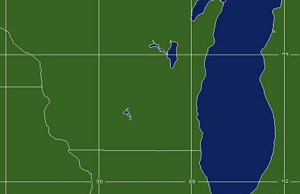 Milwaukee, WI WFO Coverage Map